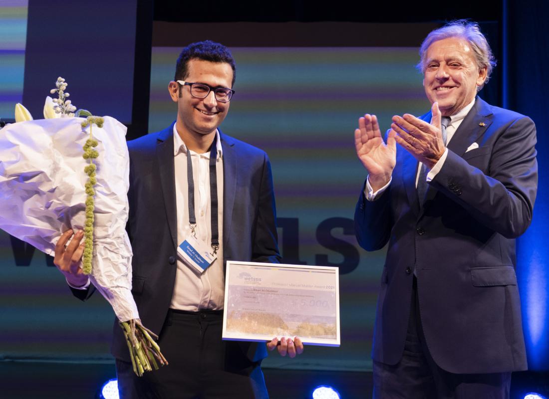 Emad al-Dhubhani wins Marcel Mulder prize